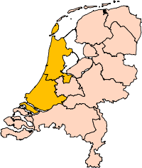 The provinces of Holland