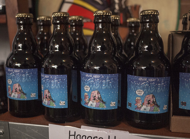 They also brew their own beer in their shop in The Hague.