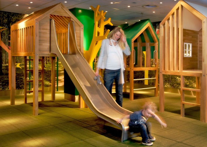 The Kids Forest Playground at Schiphol Airport