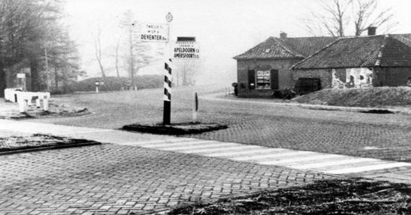 Bakkerij Bril in the 1960s.