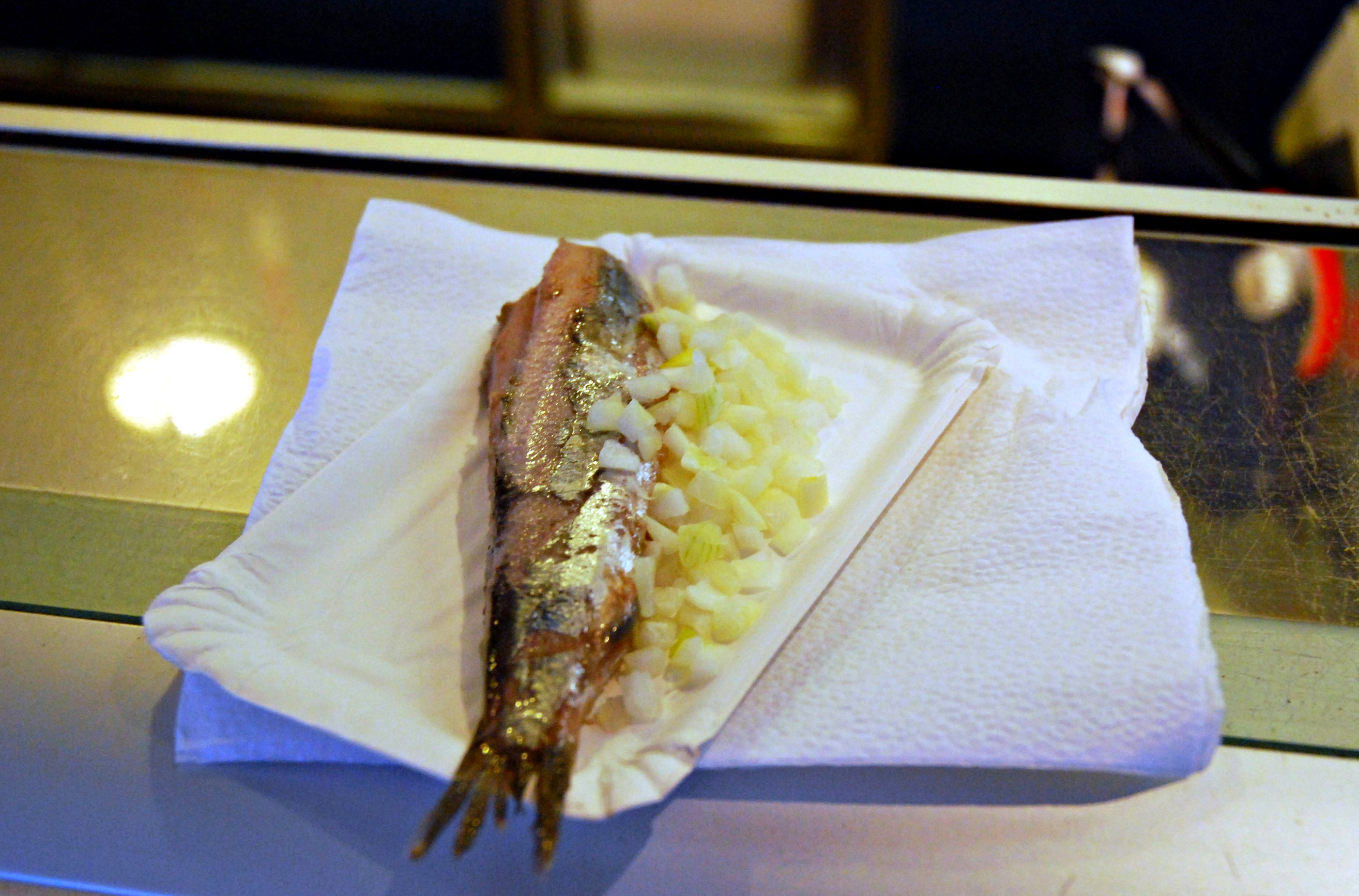 Herring with onions - simple yet punchy!