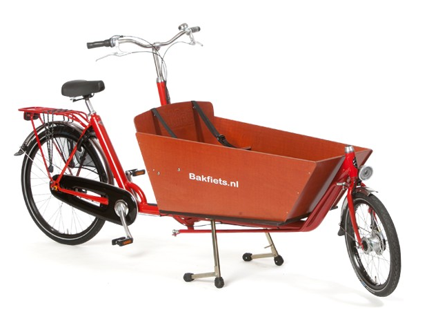 The CargoBike Long from Bakfiets.nl is one of the best on the market.