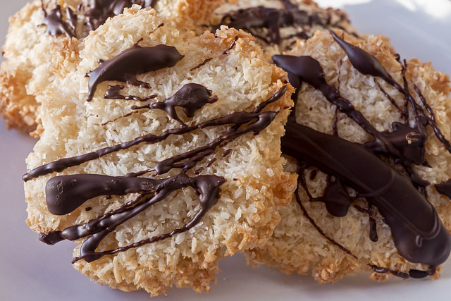 Best Recipes Ever Chocolate Coconut Macaroons