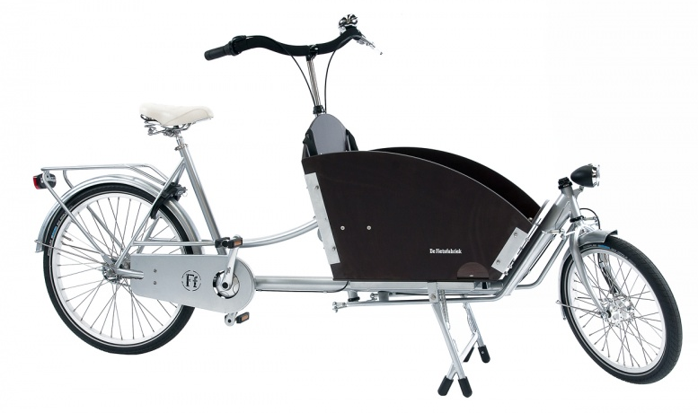 The basic model holds 2 kids and is pleasingly compact but bigger versions are vailable.
