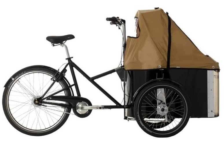 The Danish-made Nihola brand of cargo bikes is very well respected.