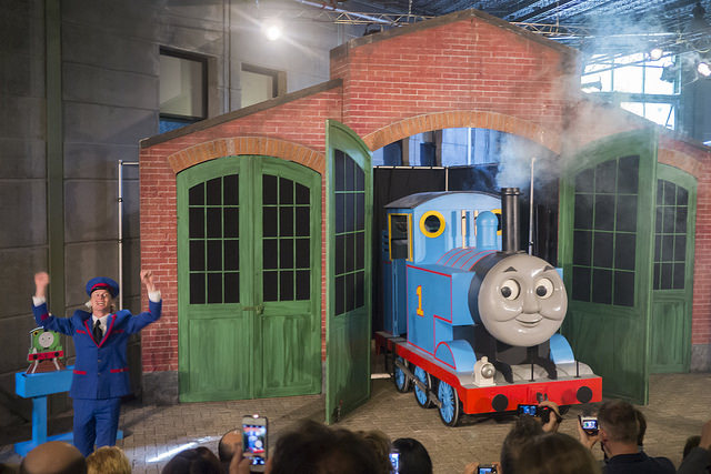 The Thomas Musical was a huge hit with our two toddlers