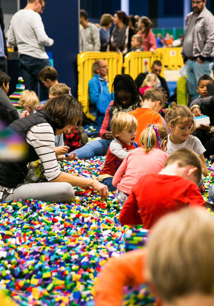 Lego World is the world's largest Lego event, and it happens in Utrecht every year.